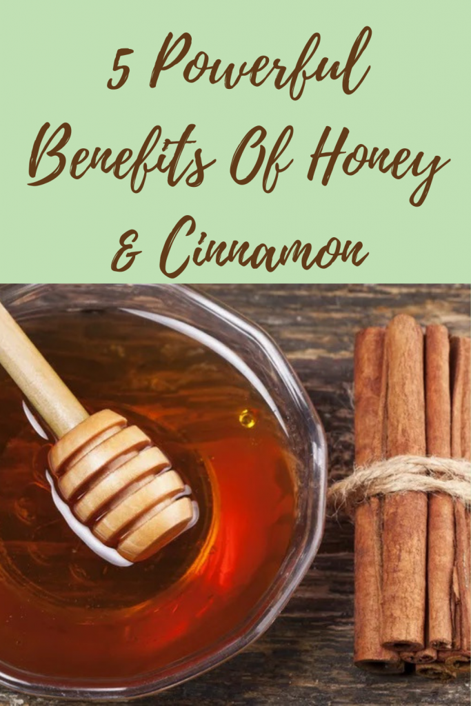 5 Powerful Benefits Of Honey & Cinnamon