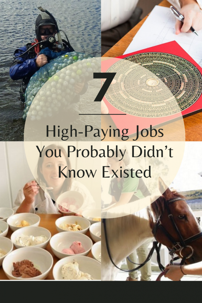 7 High-Paying Jobs You Probably Didn't Know Existed
