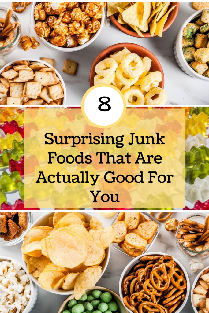 8 Surprising Junk Foods That Are Actually Good For You