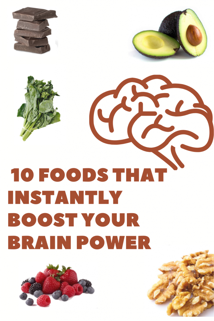 10 Foods That Instantly Boost Your Brain Power