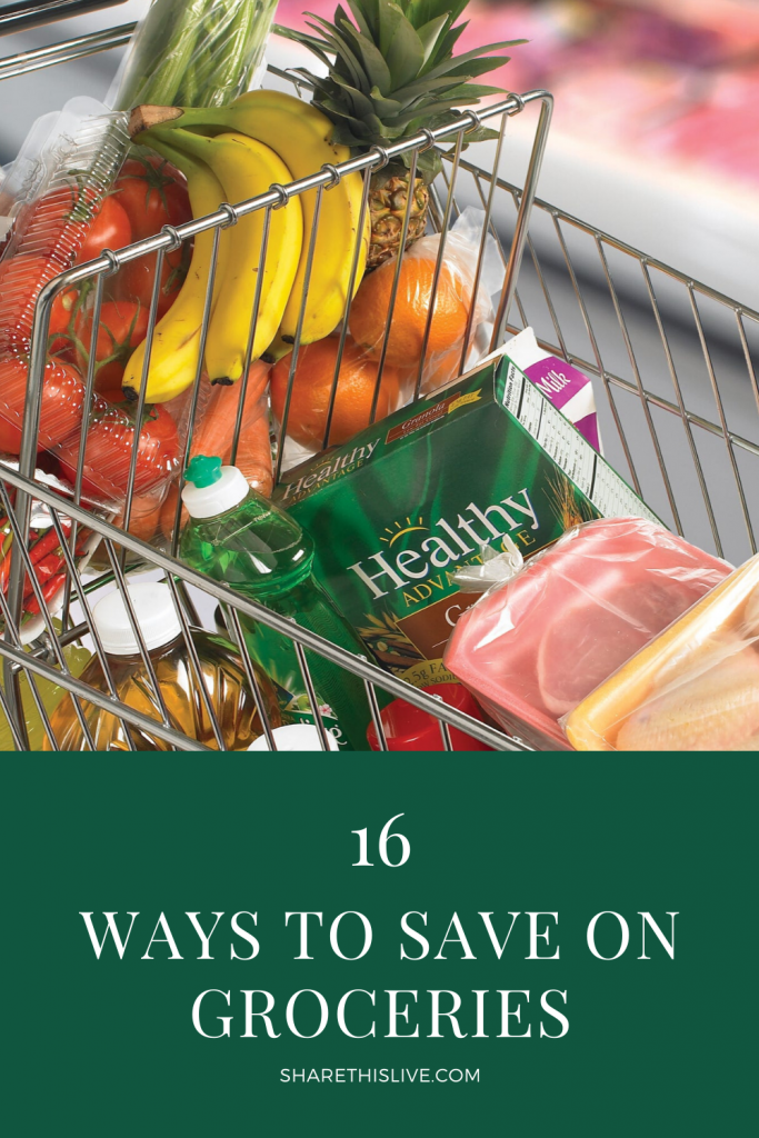 16 Ways To Save On Groceries