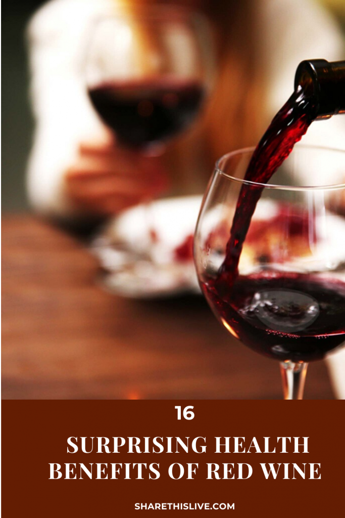 16 Surprising Health Benefits of Red Wine